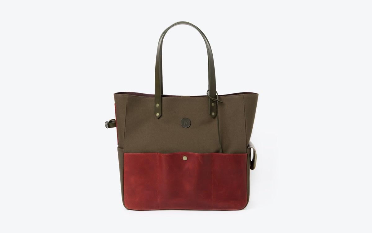 M Tote bag Red 02