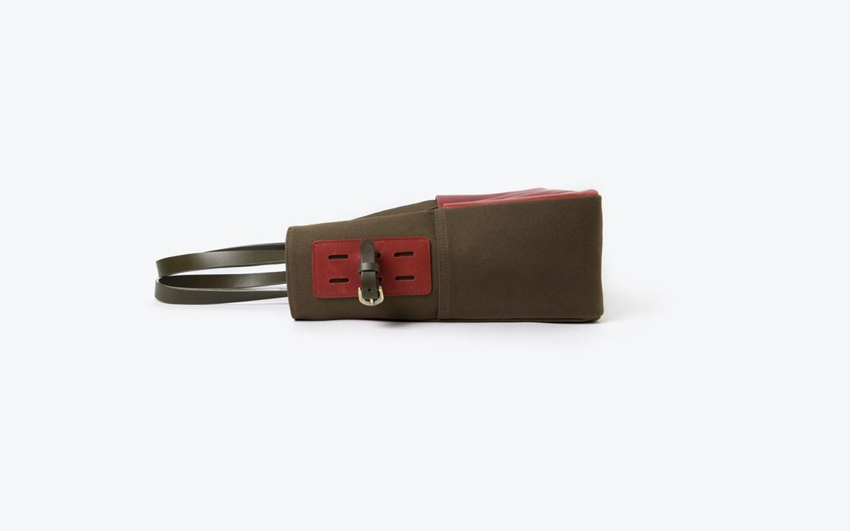 M Tote bag Red 03
